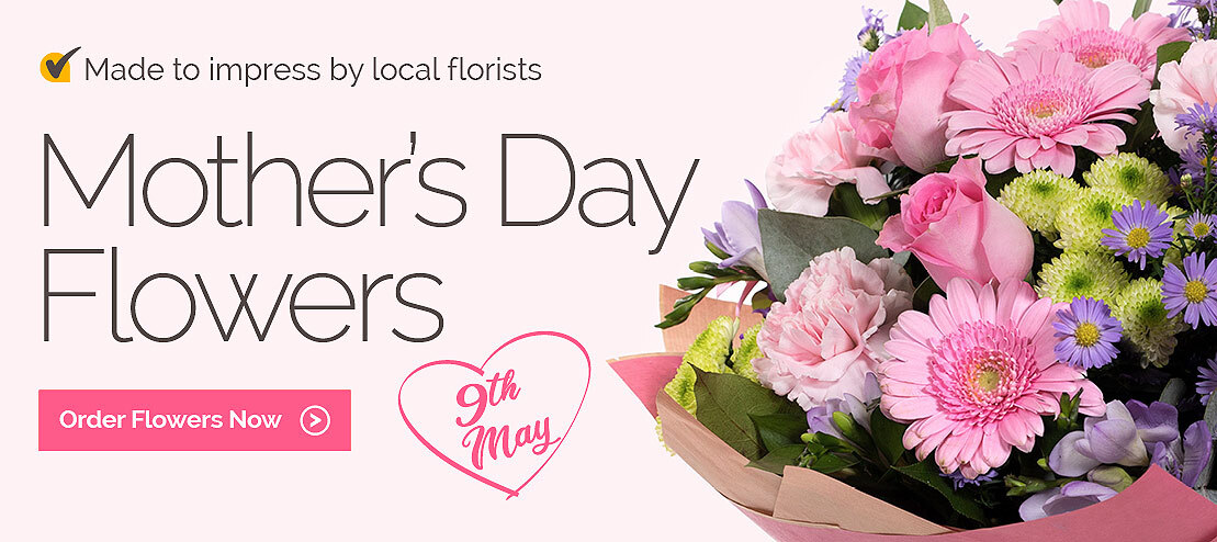 Mother's Day flowers delivered by local florists in USA