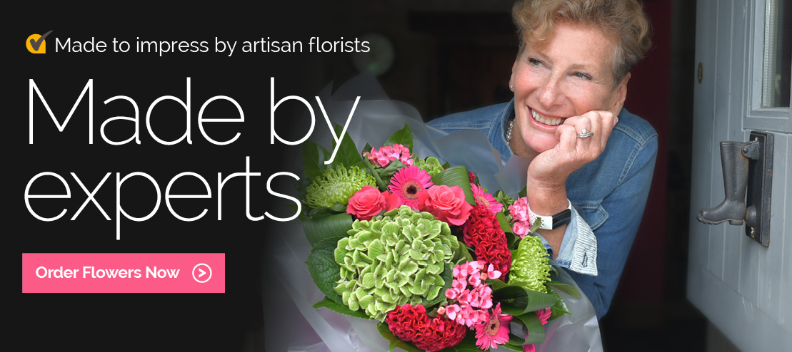 Made by expert florists in the USA