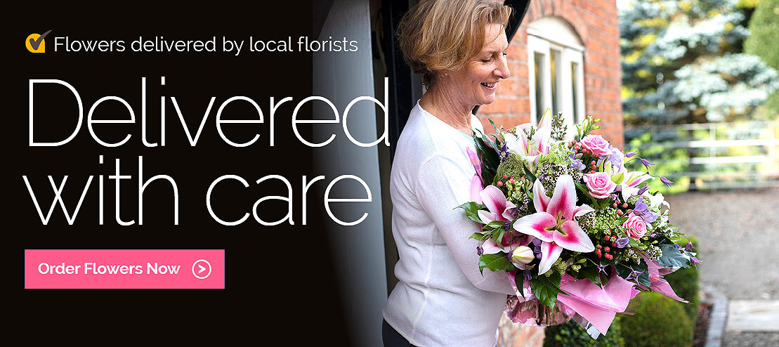 Flower delivery by local florists in the USA