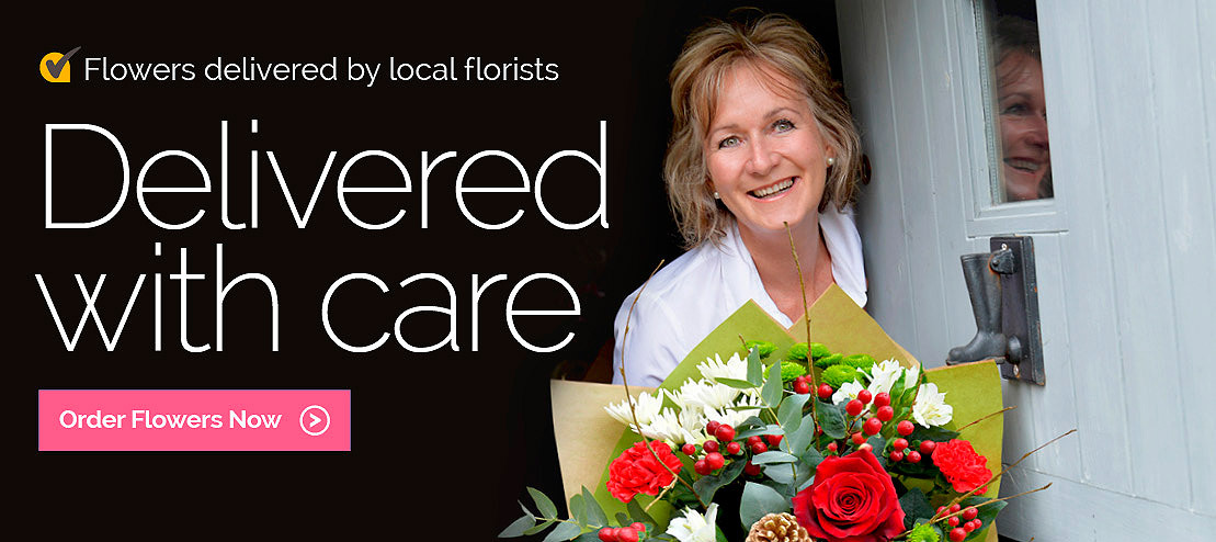 Flowers delivered with care by local florists in Russia