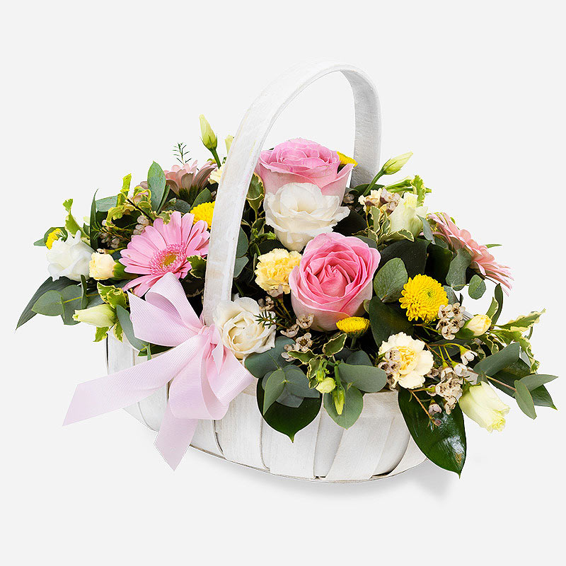 Order A Country Basket flowers