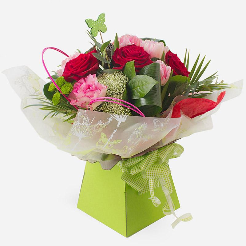 Order Butterflies & Roses flowers