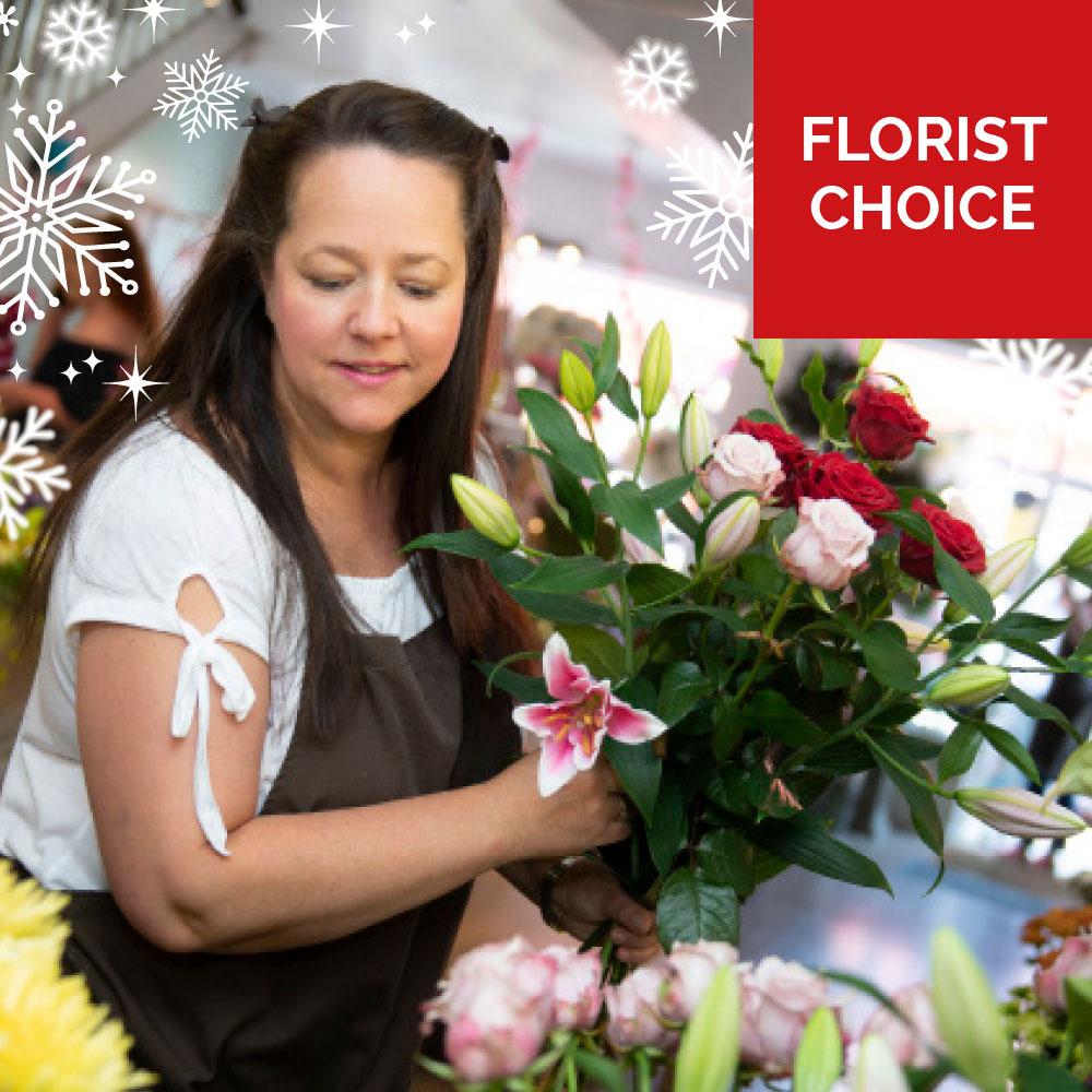 Order Christmas Florist Choice Flowers flowers